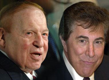 Sheldon Adelson Steve Wynn anti-online gambling