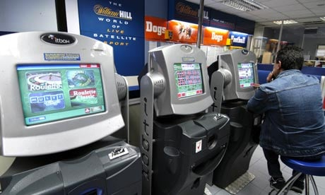 Fixed-odds betting terminals FOBTs UK tax hikes