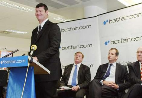 James Packer Crown Casinos Betfair Australia