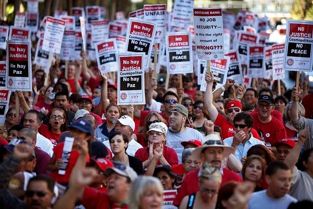 Culinary Union 226 Las Vegas strike