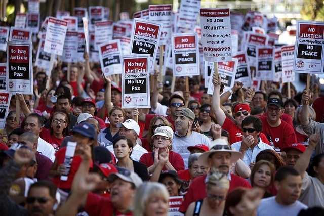 Culinary Union 226 Las Vegas strike