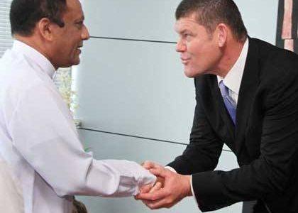 James Packer Sri Lanka Crown Casinos