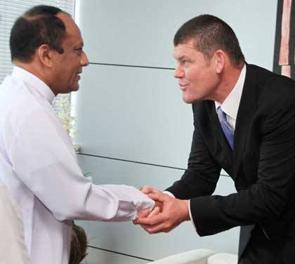 James Packer Sri Lanka Crown Casinos