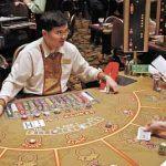 Nevada gaming revenues February gaming revenues Macau baccarat