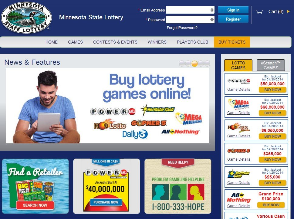 the lottery online