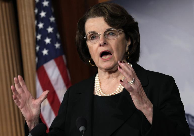 Senator Dianne Feinstein California federal online gambling