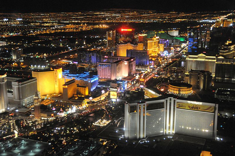 Las Vegas Strip gambling revenue