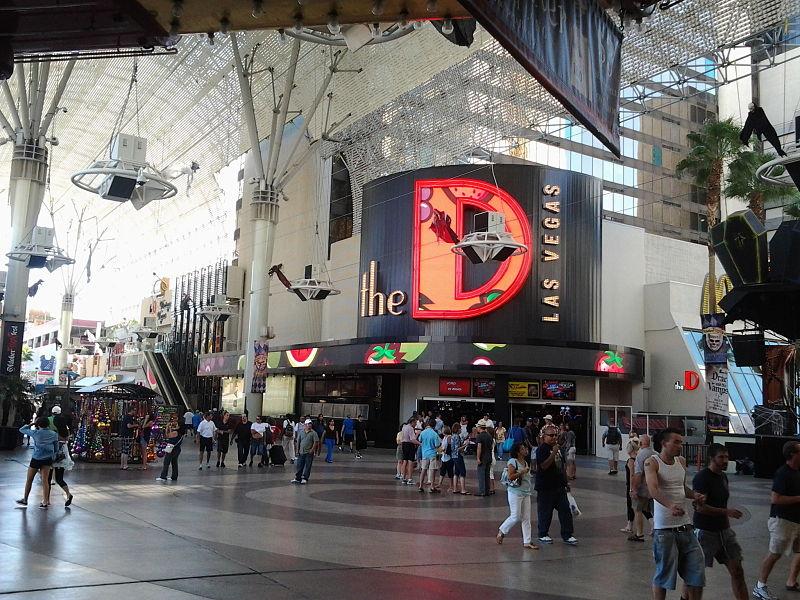 D Hotel Casino downtown Las Vegas Bitcoin ATM