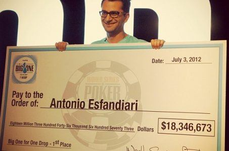 Antonio Esfandiari Big One for One Drop WSOP