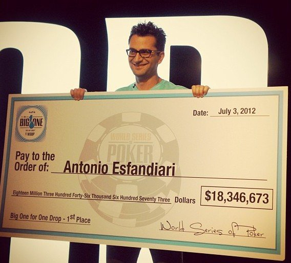 Antonio Esfandiari Big One for One Drop WSOP