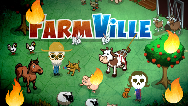 Social gaming Farmville