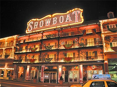 Showboat, Caesars Entertainment, Atlantic City, New Jersey