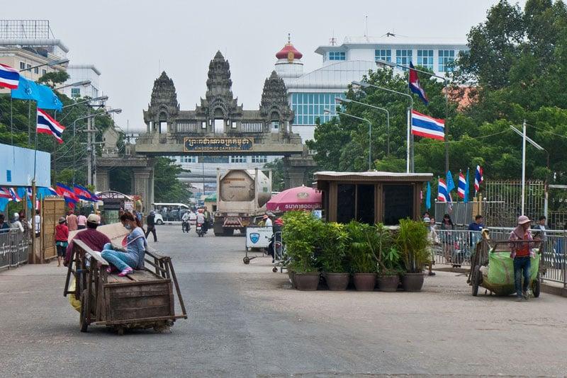 Poipet, Cambodia, Thailand