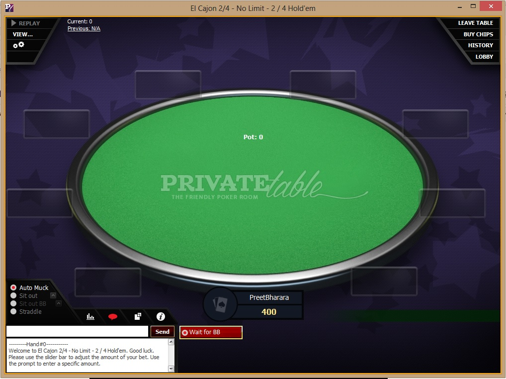 Santa Ysabel Interactive hopes to make PrivateTable.com California's first regulated online poker room.