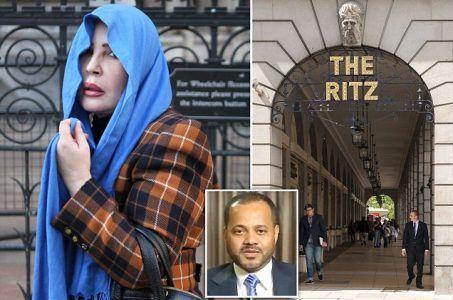Ritz Casino, London, Omani politician, Nora Al-Daher, gambling losses