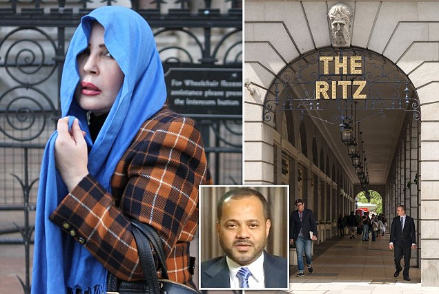 Ritz Casino, London, Omani politician, Nora Al-Daher, gambling losses