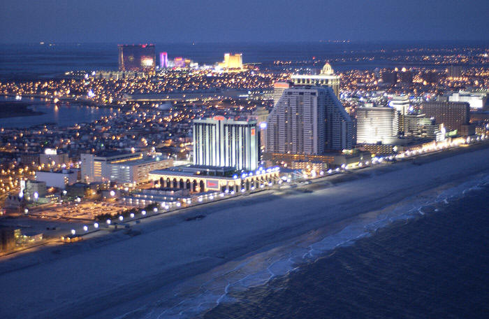 New Jersey, Atlantic City casinos, New York State casinos