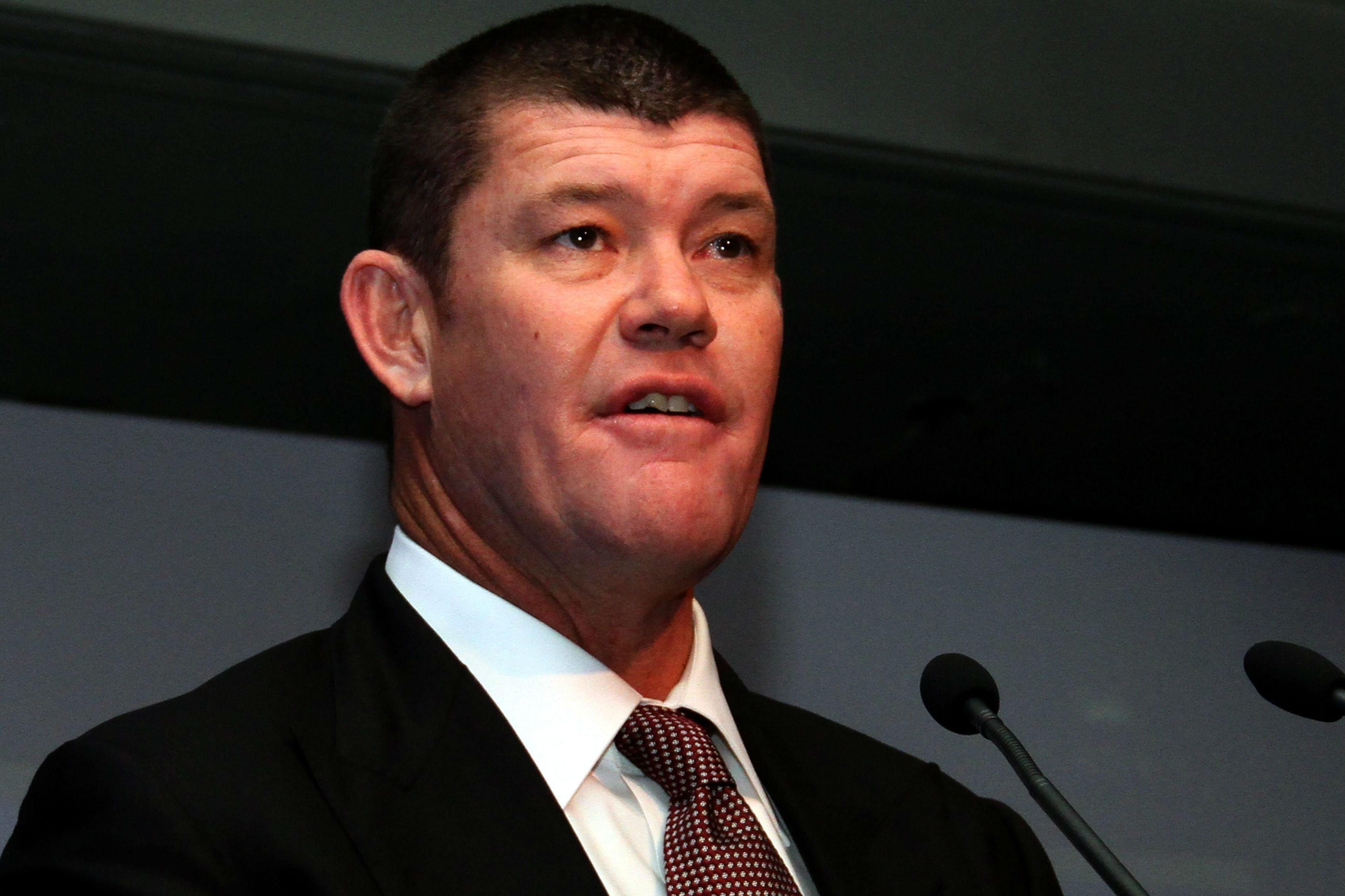 Australian casino mogul James Packer