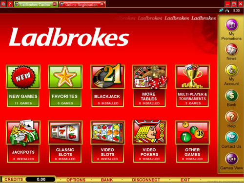 Ladbrokes Betting Profit Drop