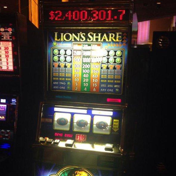 Lion's Share jackpot MGM Grand