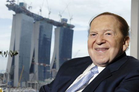 Las Vegas Sands Chairman and CEO, Sheldon Adelson