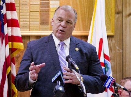 New Jersey State Senate President Stephen Sweeney