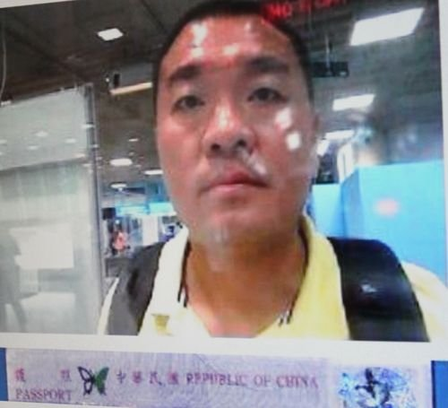 Taiwanese murder suspect Hsieh Yuan-hsin