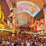 Fremont Street Draws More Tourists and More Cops