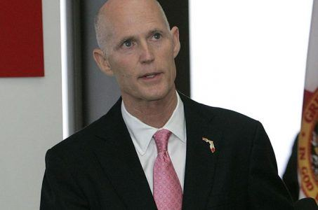 Florida Governor Rick Scott and Seminoles