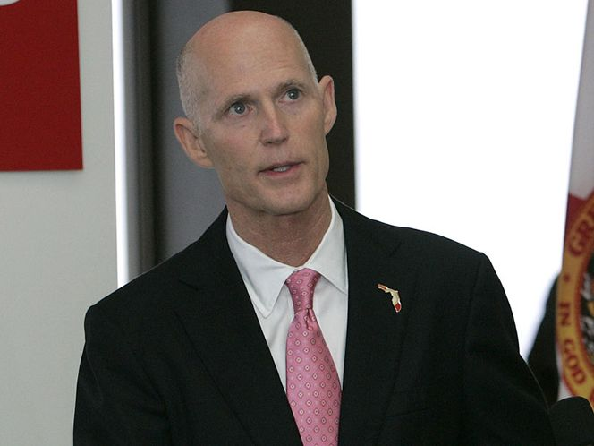 Florida Governor Rick Scott and Seminoles