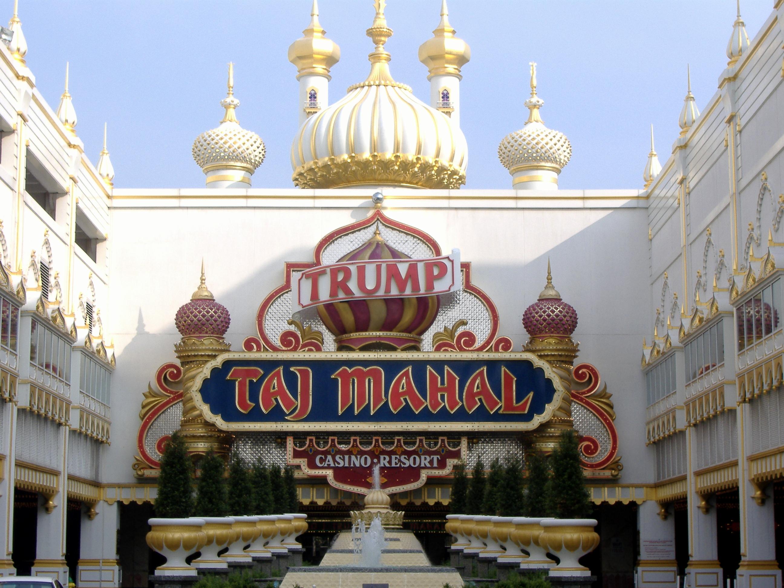 Trump Taj Mahal closure