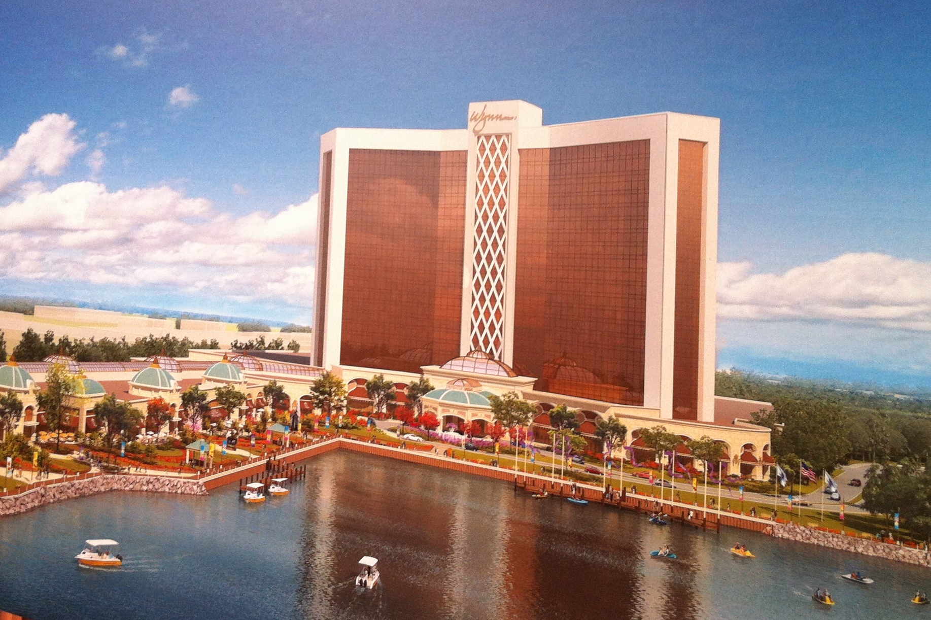 Artist rendering of Wynn Everett