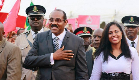 Gaston Brown, Prime Minister of Antigua and Barbuda