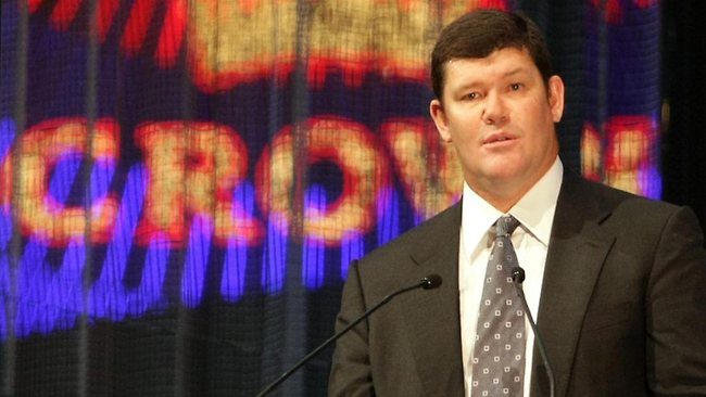 James Packer, Chairman and CEO of Crown Resorts