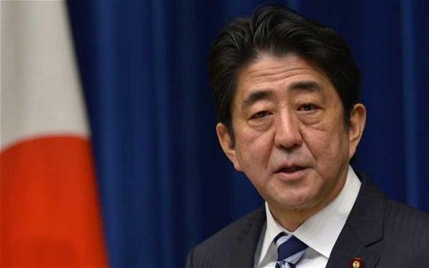 Japanese Prime Minister Shinzo Abe delayed casino plans