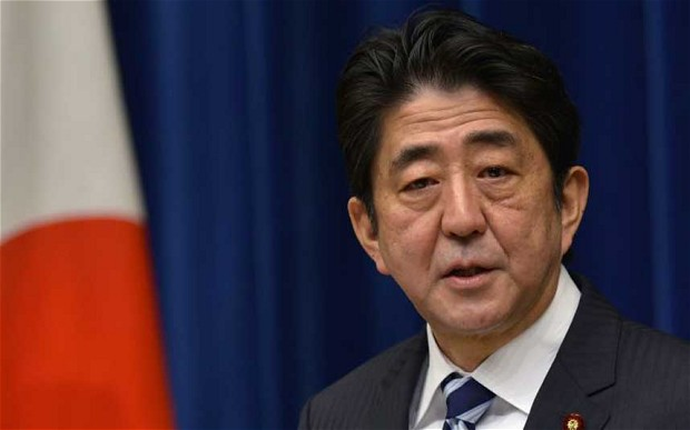 Japanese Prime Minister Shinzo Abe delayed casino plans