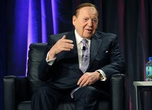 Sheldon Adelson G2E keynote