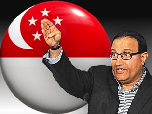Singapore Second Minister for Home Affairs S Iswaran