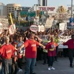 Trump Taj Mahal Protests Create Atlantic City Gridlock