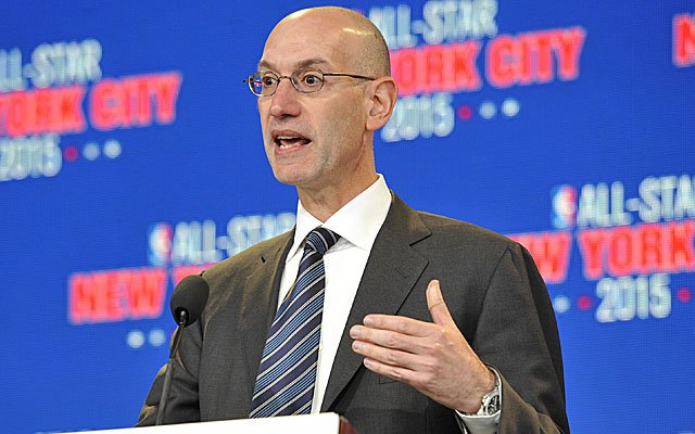 Adam Silver NBA legal US sports betting