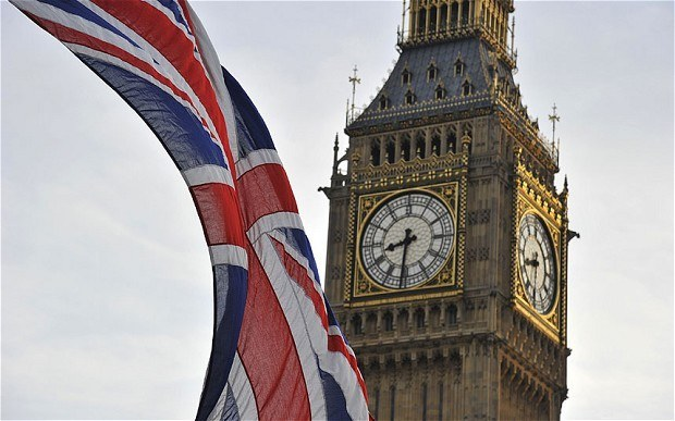 Union Jack, Westminster, Big Ben