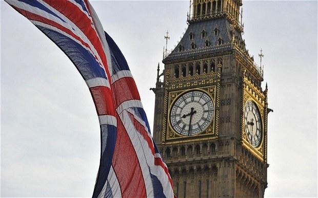 Union Jack, Westminster, Big Ben