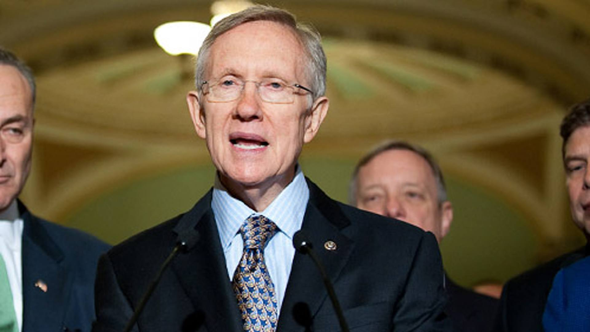 Harry Reid Sheldon Adelson RAWA 2015