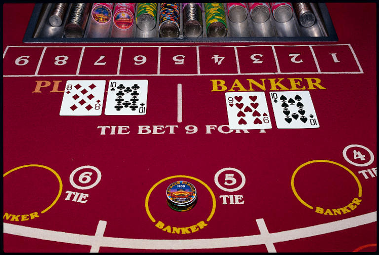 Nevada gambling revenues down baccarat