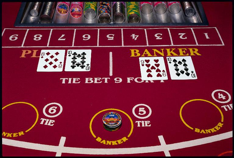 Nevada gambling revenues down baccarat