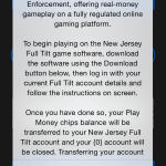 Full Tilt Accidentally Boasts About New Jersey License That Doesn't Exist