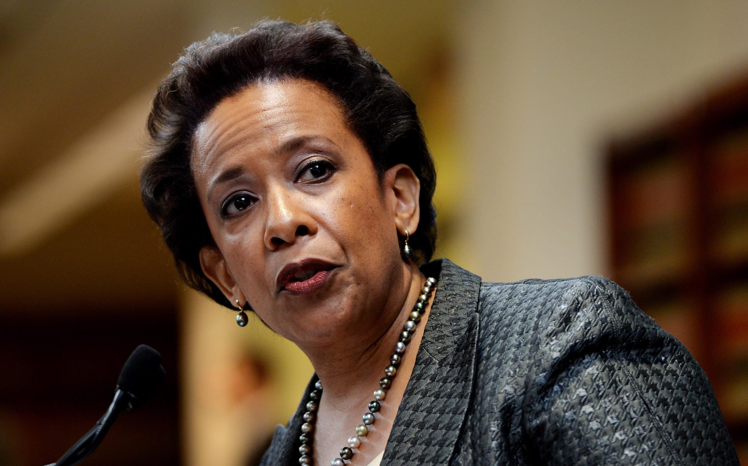 US AG nominee Loretta Lynch illegal gambling questions