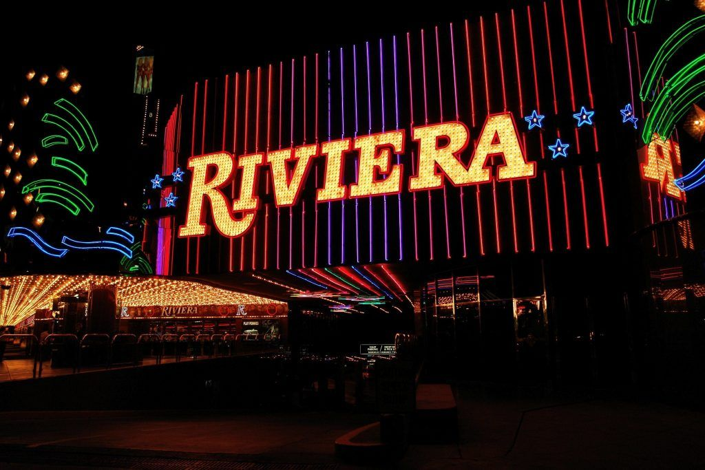 The Riviera demolished convention center