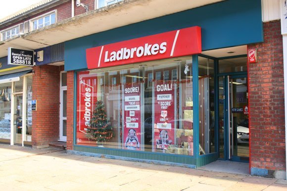 Ladbrokes shop closures stock price