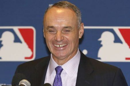 MLB Rob Manfred sports betting